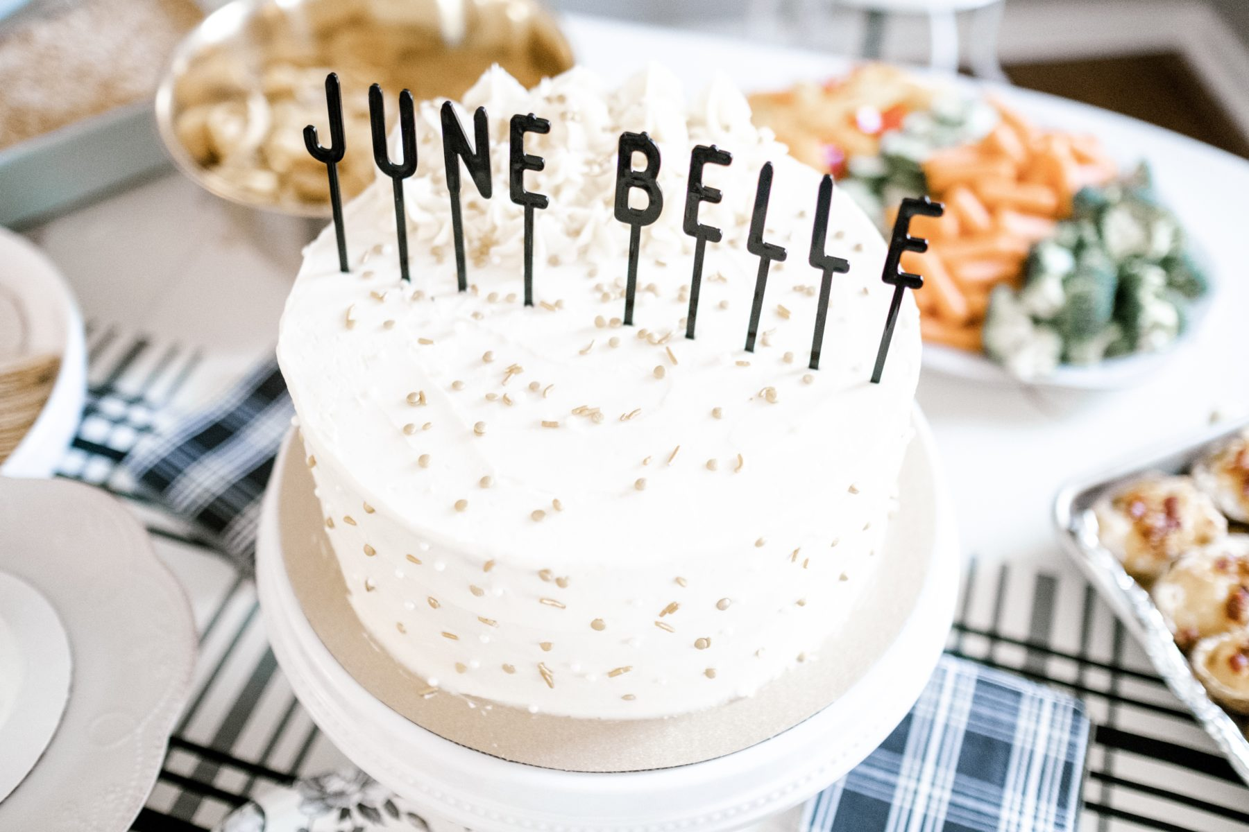 June Belle's First Birthday Party featured on Nashville Baby Guide