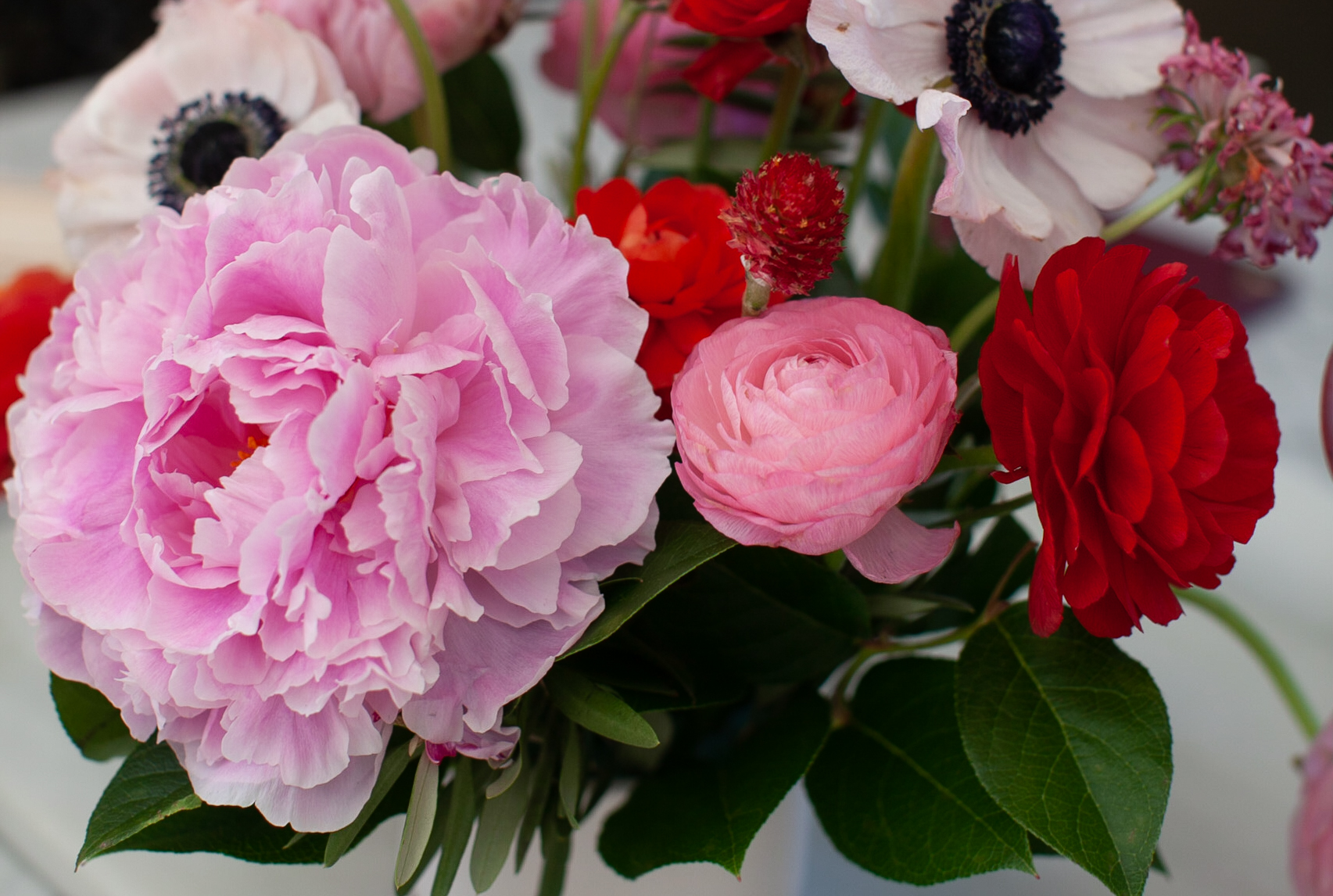 Pink Baby Shower Flowers featured on Nashville Baby Guide