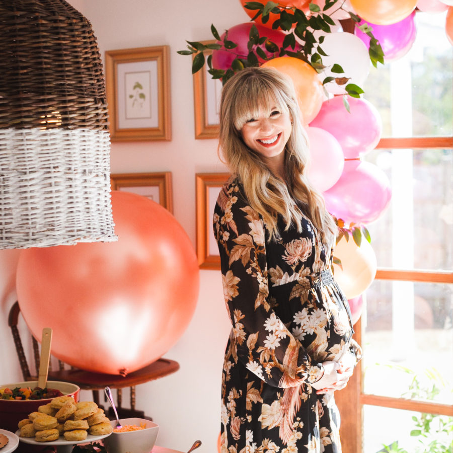 Mom To Be at Nashville Baby Shower featured on Nashville Baby Guide