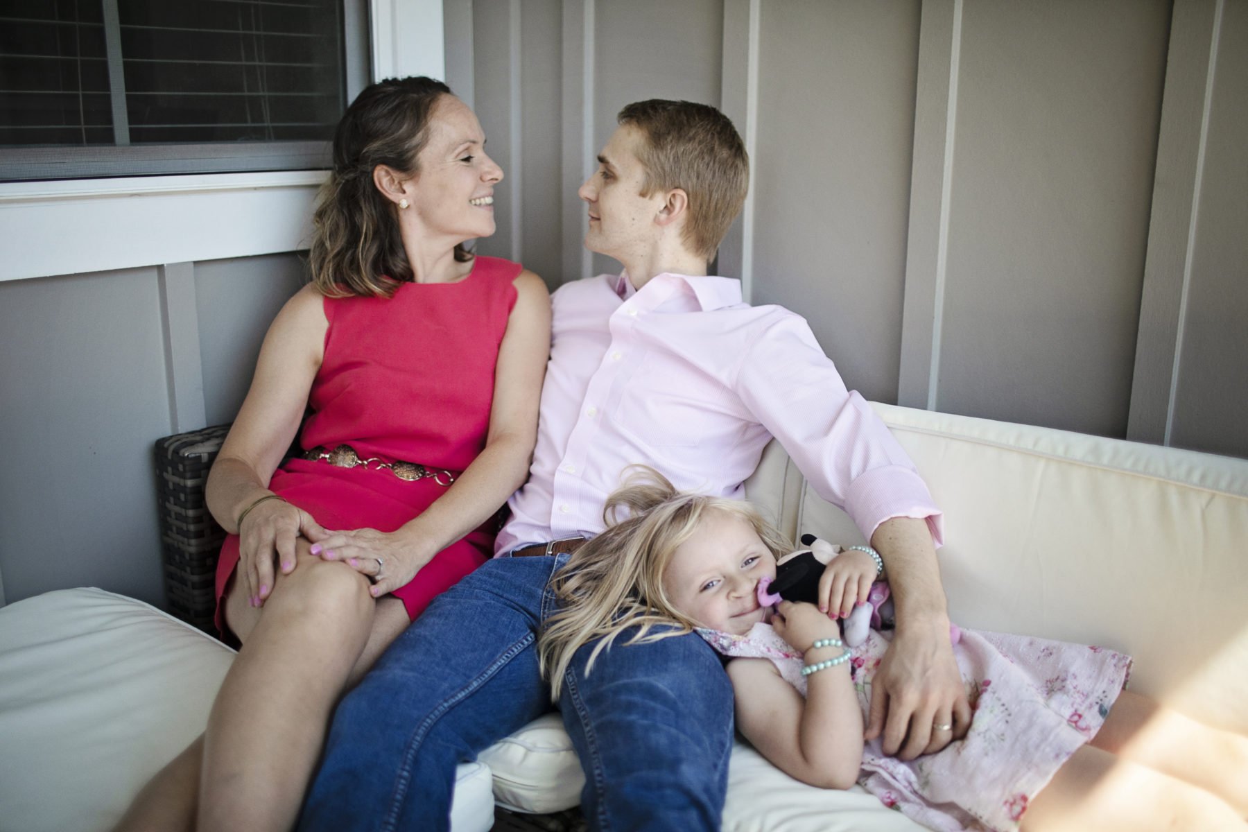 In-home family session featured on Nashville Bride Guide