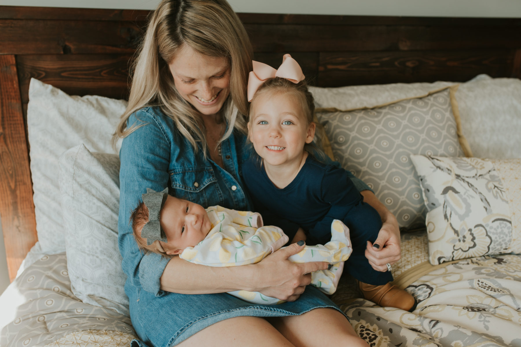 In-Home Newborn Session captured by Risen Vintage on Nashville Baby Guide