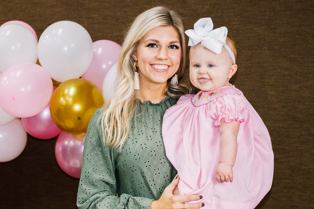 Pink Kids Birthday Party featured on Nashville Bride Guide