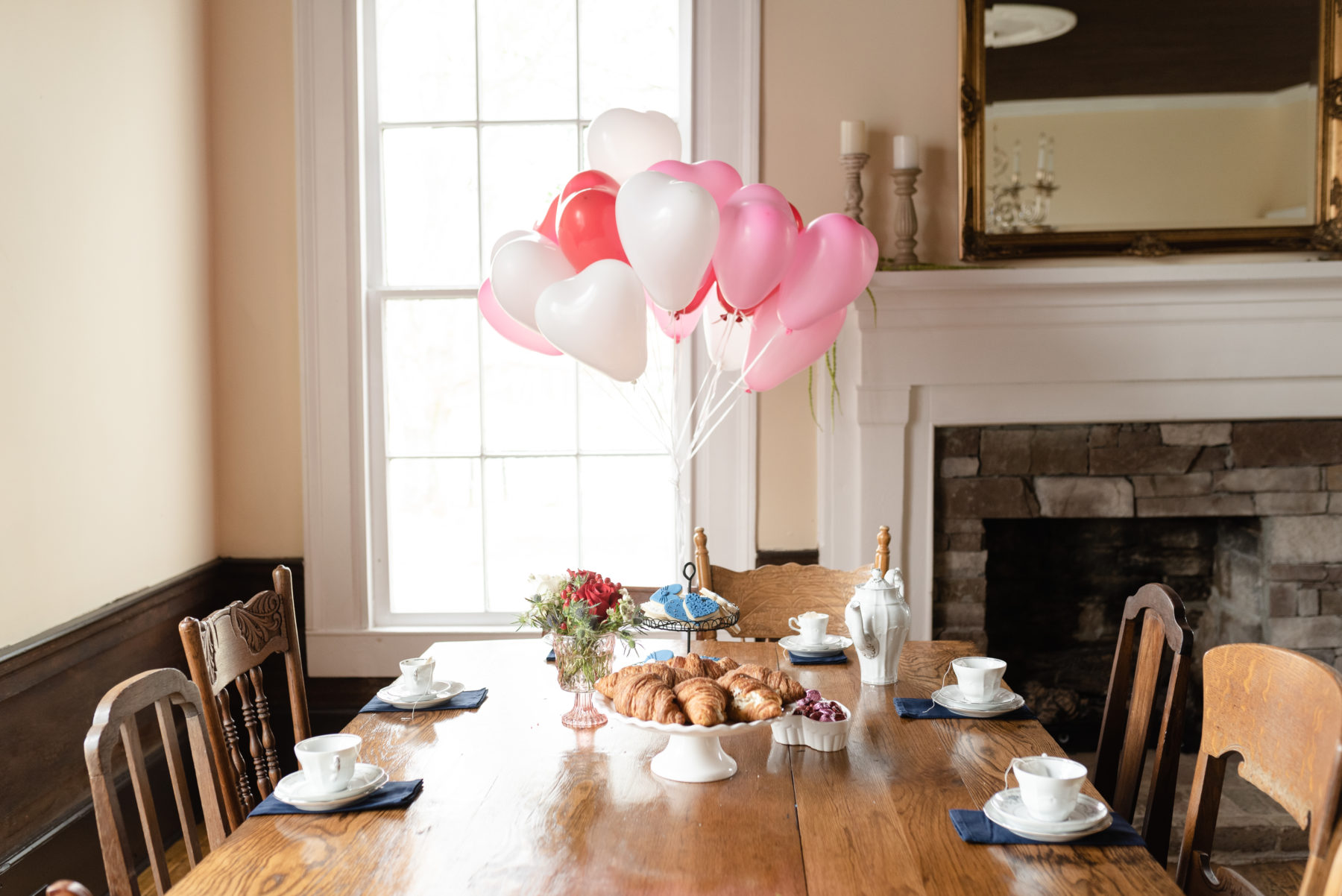 Generational Valentine's Day Styled Shoot at Promise Manor featured on Nashville Baby Guide