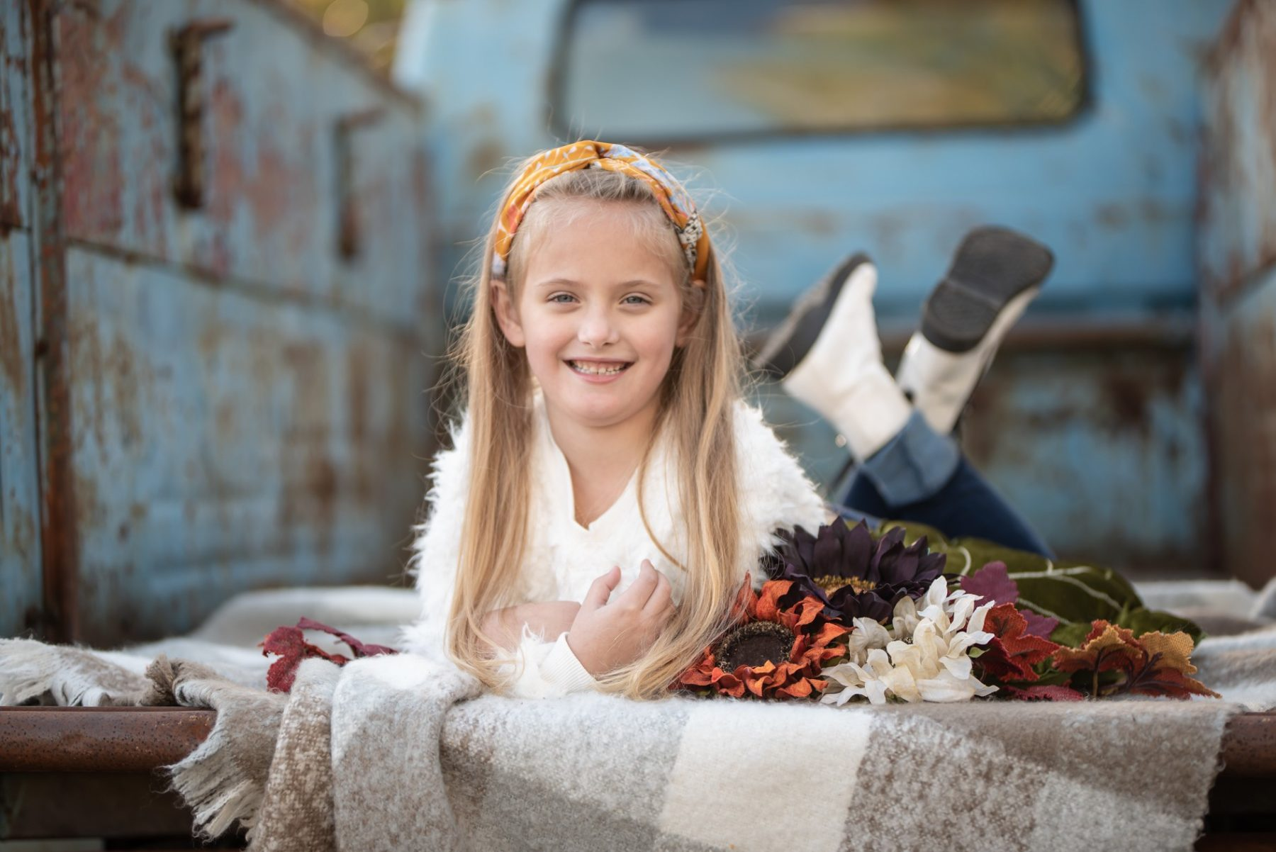 Raynah's 6 Year Photo Shoot with CeMe Photography featured on Nashville Baby Guide