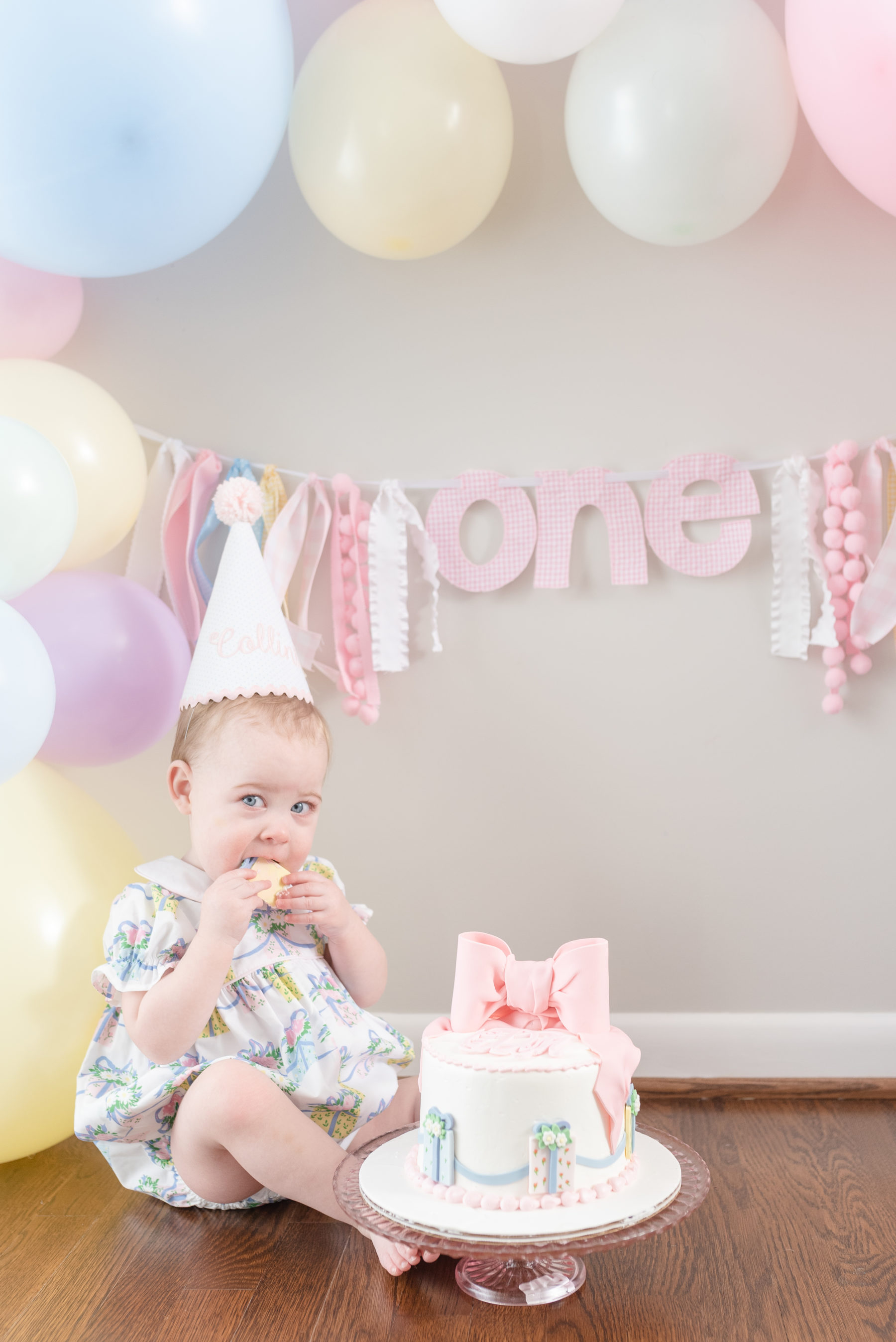 Gorgeous Pastel 1st Birthday Party featured on Nashville Baby Guide