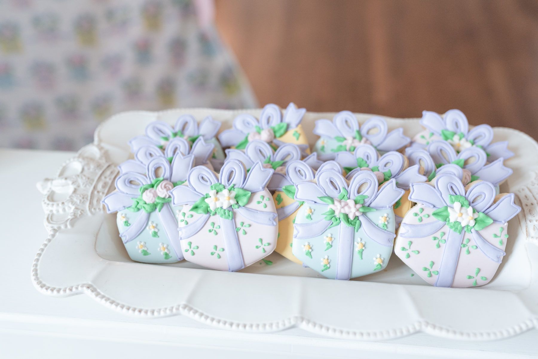 First Birthday Cookies: Dolly Delong Photography featured on Nashville Bride Guide