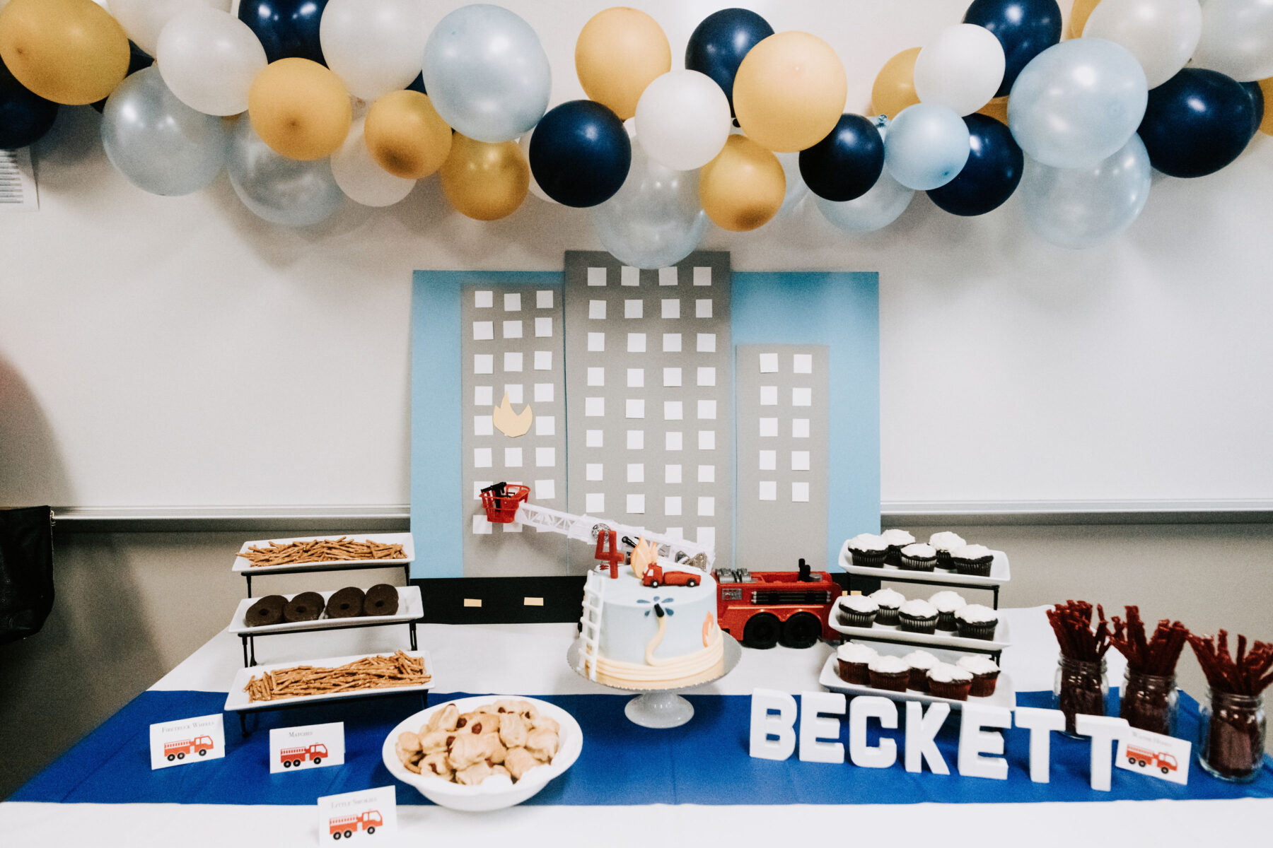 Firehouse Birthday Party featured on Nashville Baby Guide