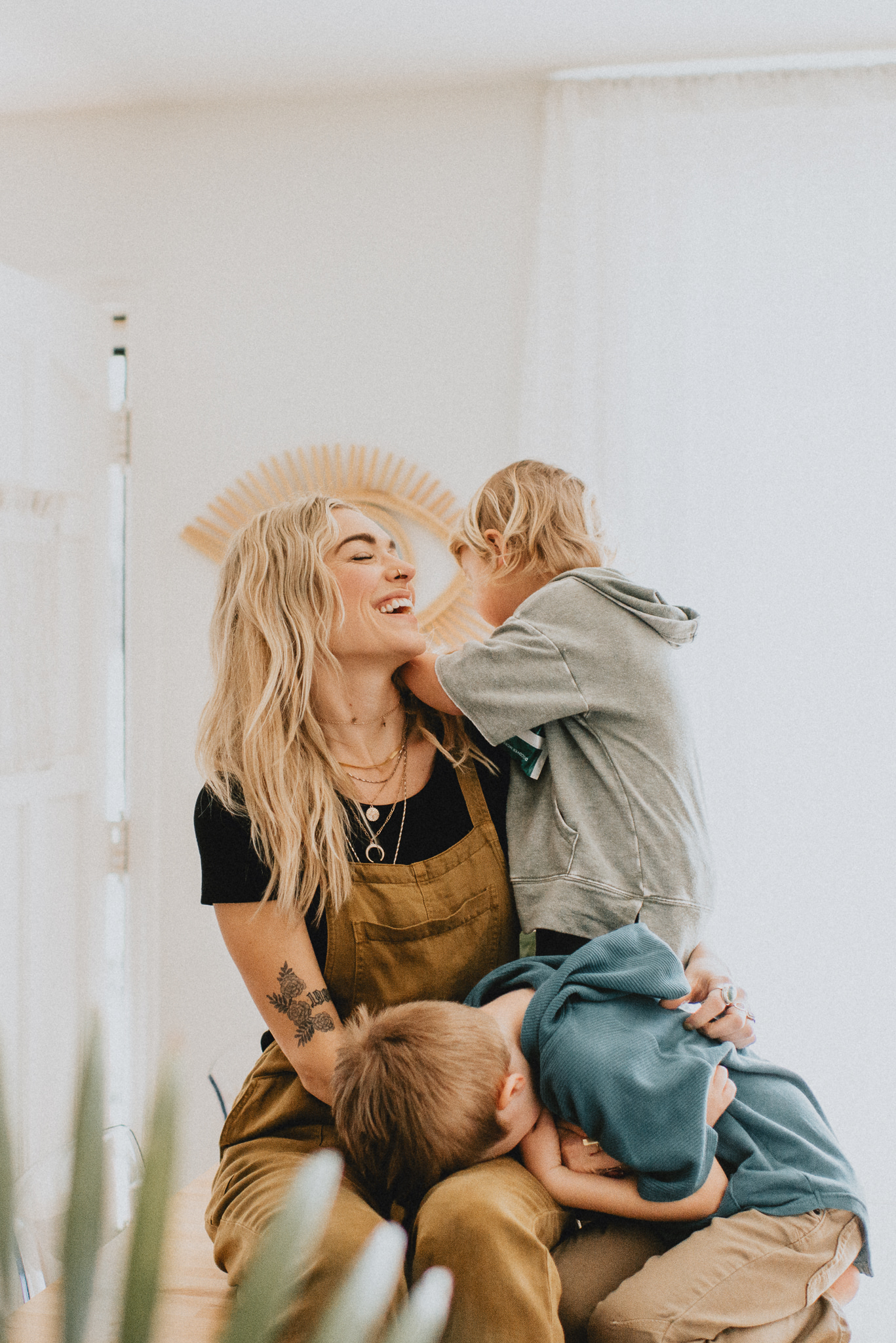 Motherhood lifestyle session featured on Nashville Baby Guide
