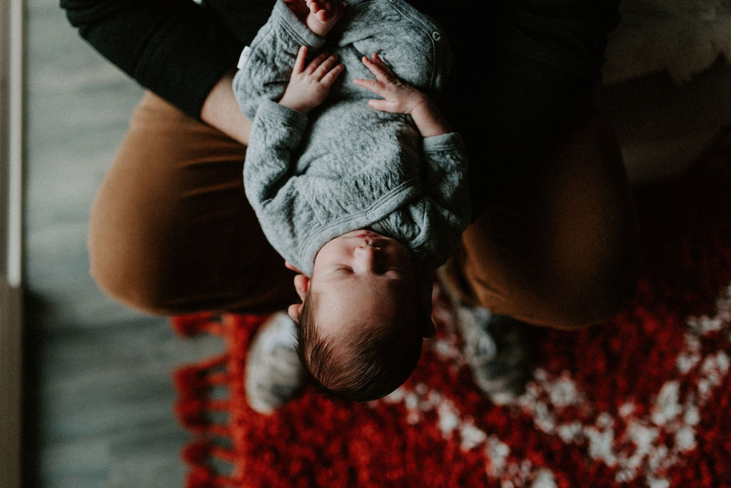 In-Home Newborn Session from Meghan Melia Photography featured on Nashville Bride Guide