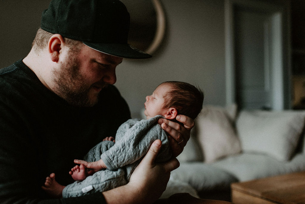 In-Home Newborn Session from Meghan Melia Photography