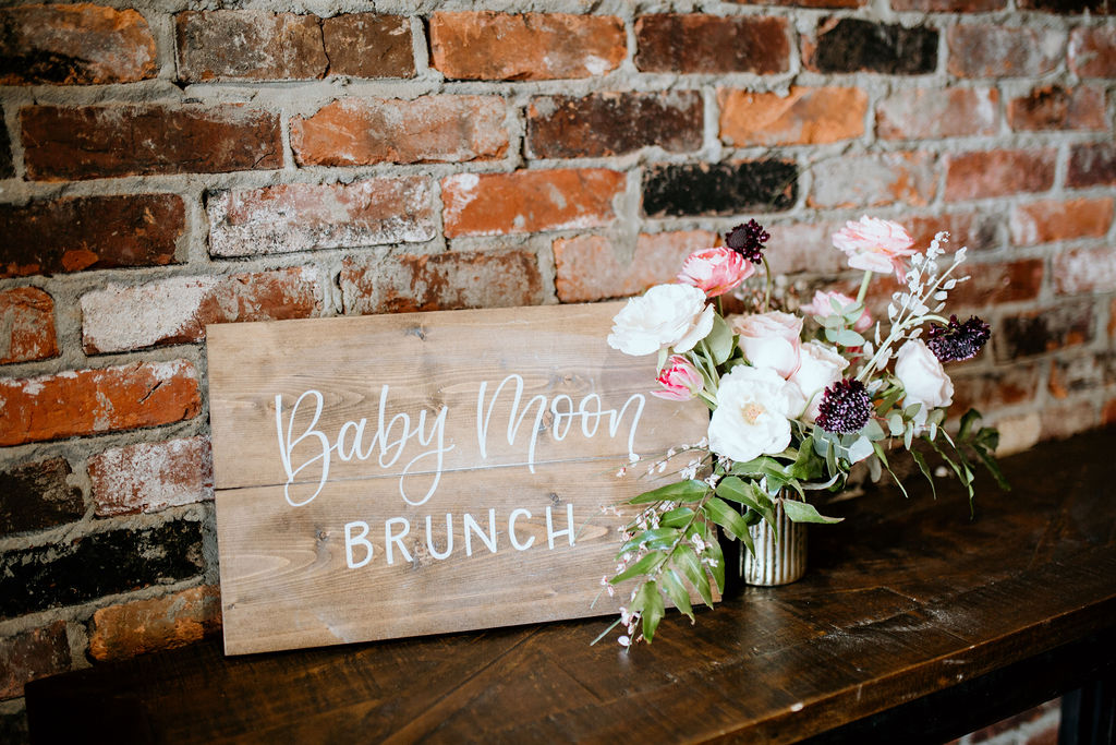 Modern Pink Baby Shower from Ninth & Everett featured on Nashville Bride Guide