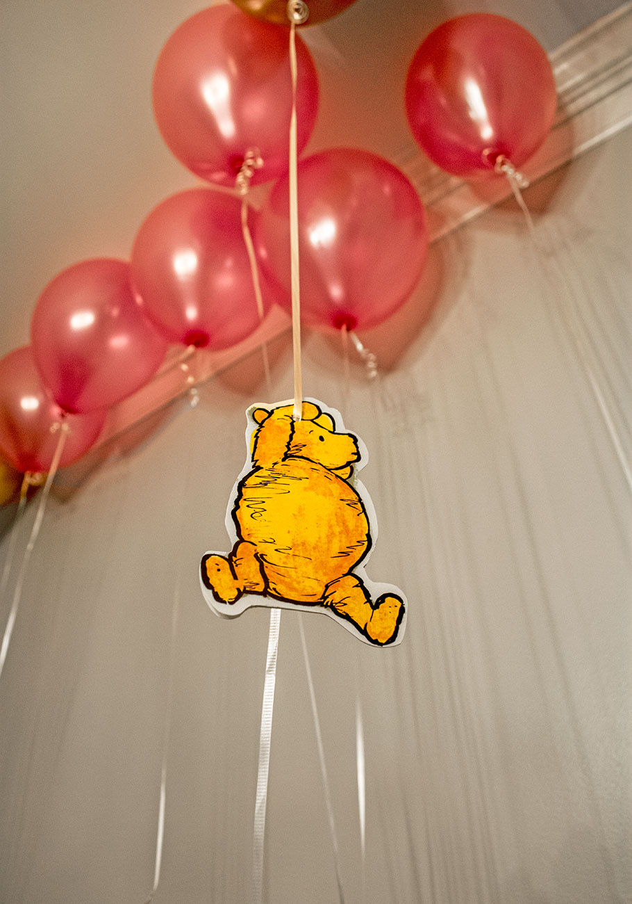 Winnie the Pooh First Birthday Party featured on Nashville Baby Guide