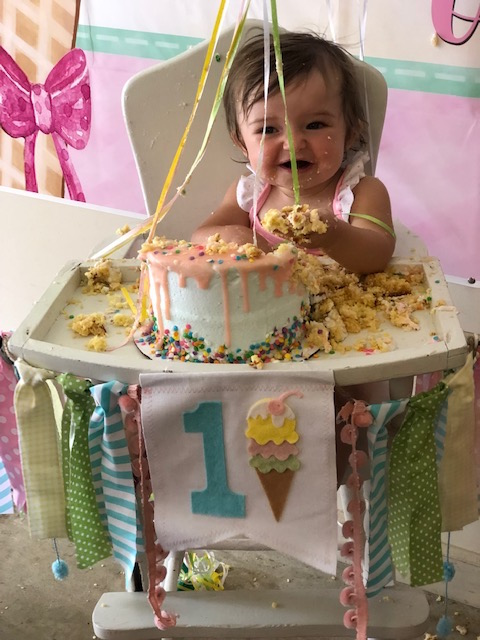 Darling Ice Cream Themed 1st Birthday Party featured on Nashville Baby Guide