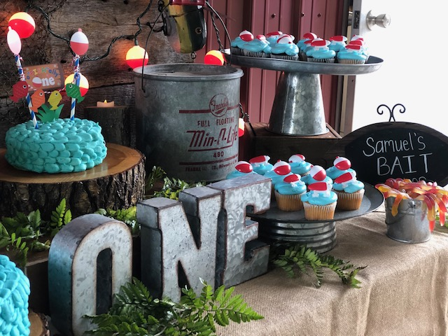 Fish Birthday Party from Romance & Rust featured on Nashville Baby Guide