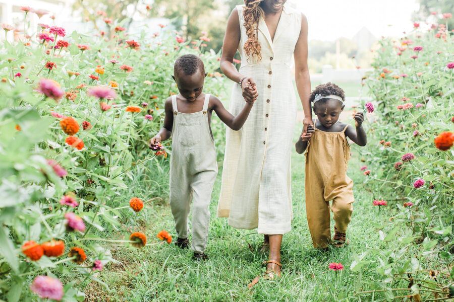 Floral Field Mommy & Me Session from Sarah Sidwell Photography featured on Nashville Baby Guide