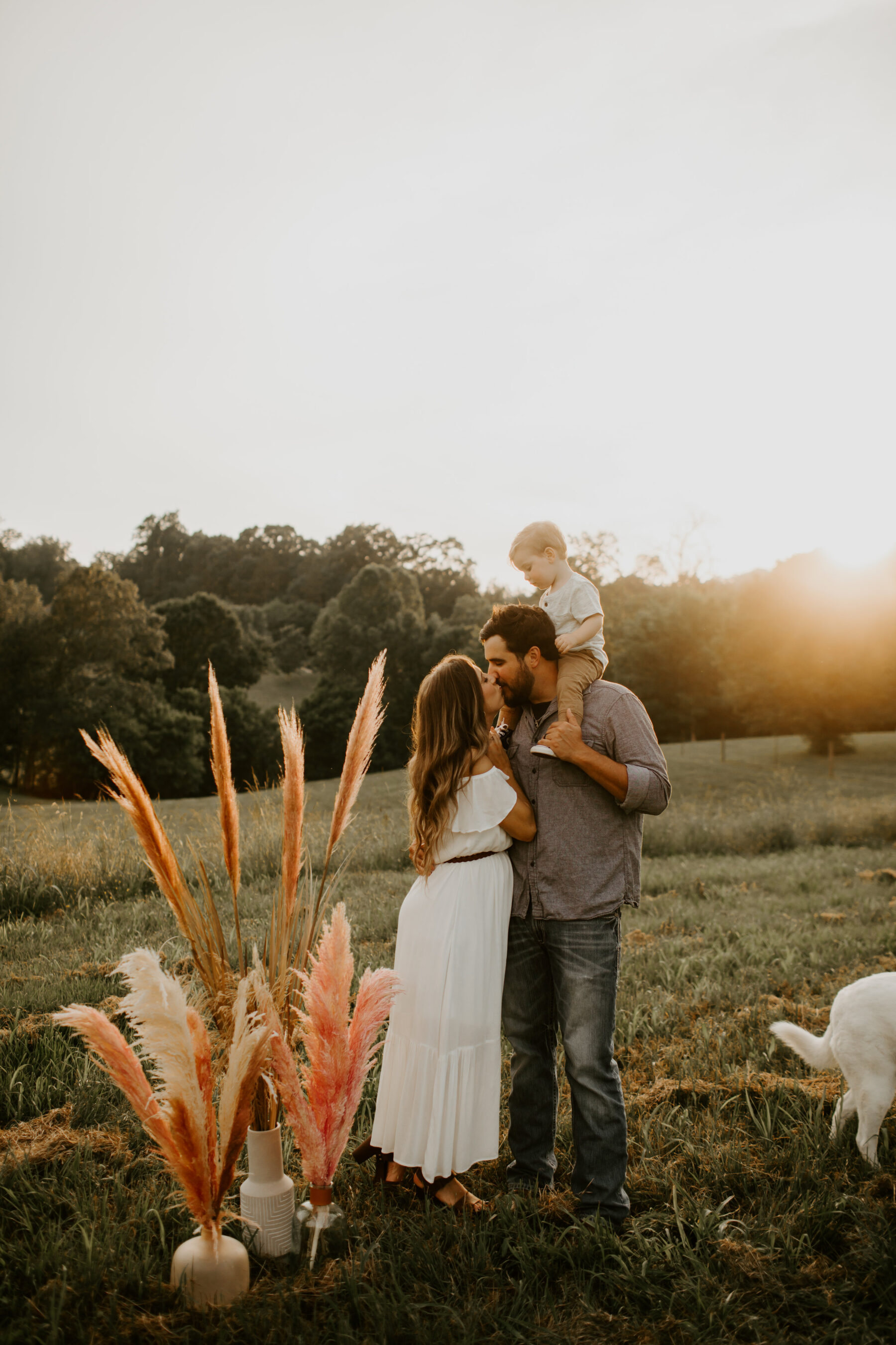 Warm Toned Baby Girl Gender Reveal featured on Nashville Baby Guide