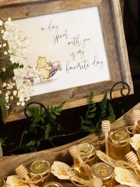 A Winnie the Pooh Baby Shower by Romance and Rust featured on Nashville Baby Guide
