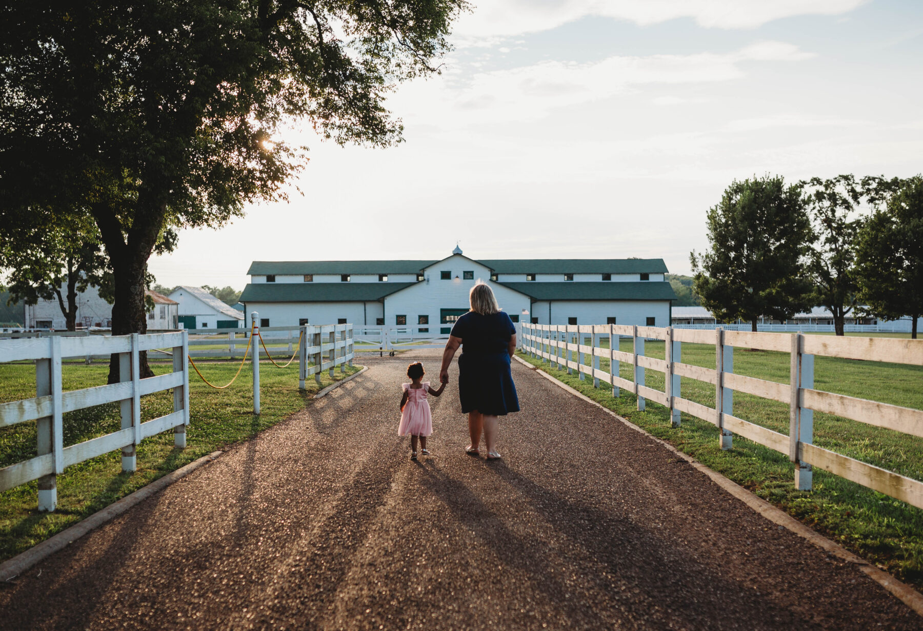 Two year old portrait session at Harlinsdale Farm by Mallory Luster Photography