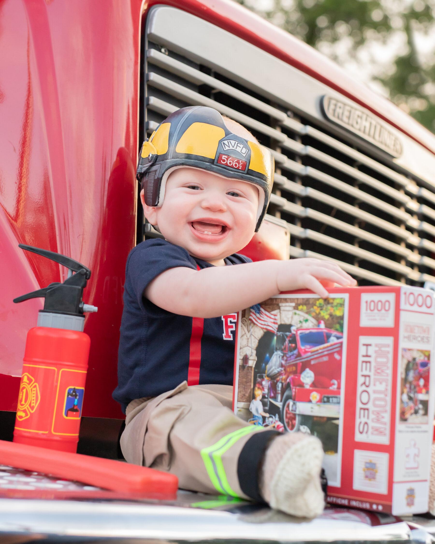 Little Firefighter Shoot by Art Inspired Images