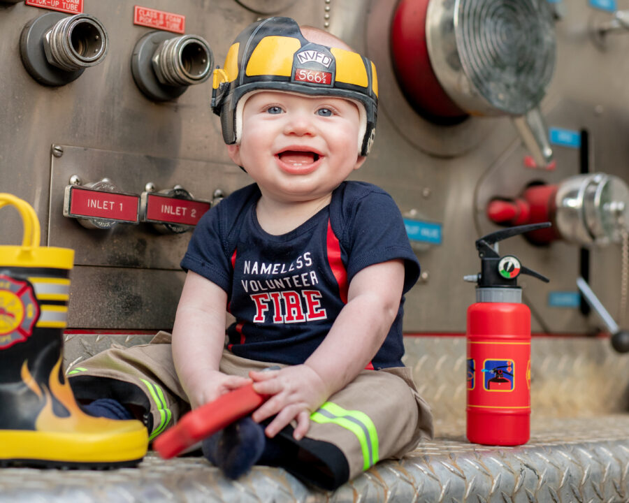 Little Firefighter Shoot by Art Inspired Images