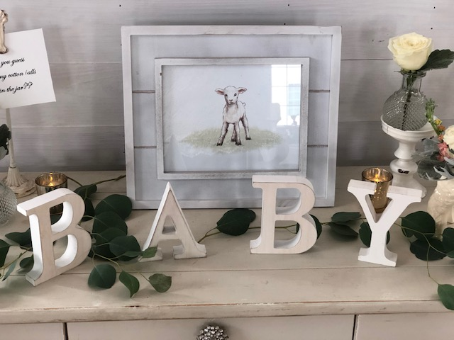 Little Lamb Baby Shower by Romance and Rust featured on Nashville Baby Guide