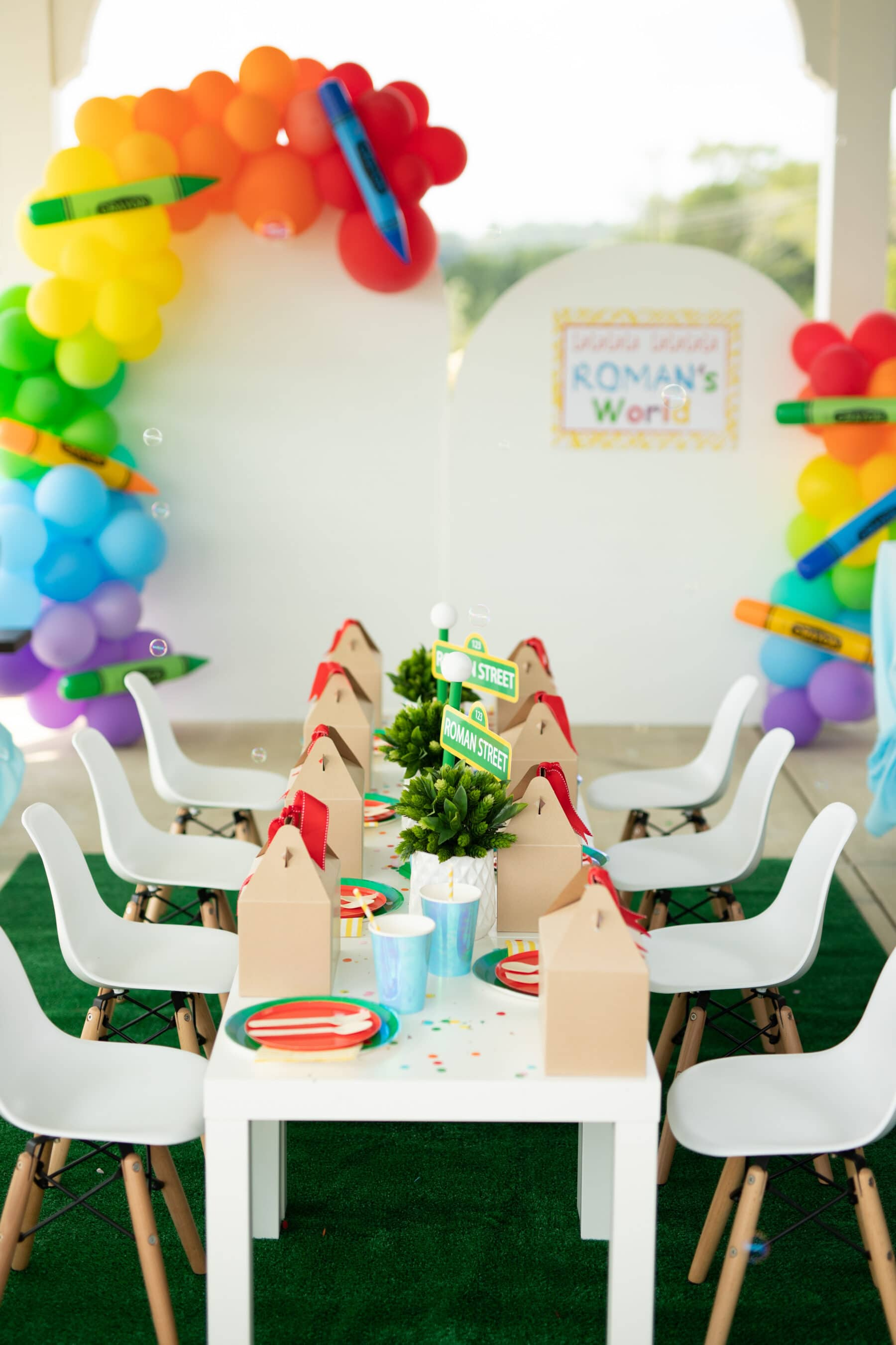 Sesame Street Themed Birthday Party featured on Nashville Baby Guide