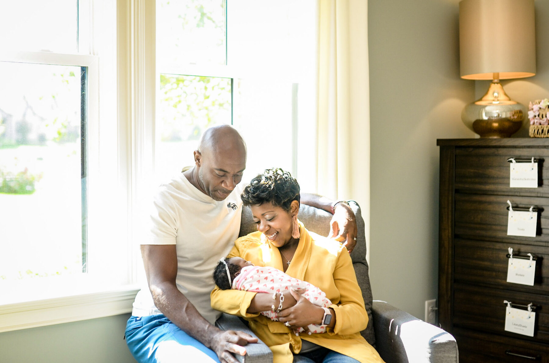 Sweet Newborn Session from By Jarquise featured on Nashville Bride Guide