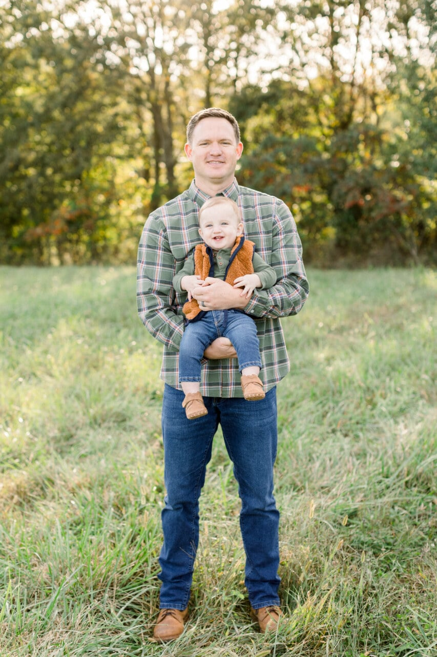 Father and son from j. photography featured on Nashville Bride Guide