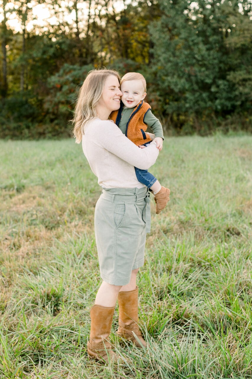 Mom hugging son from j. photography featured on Nashville Bride Guide