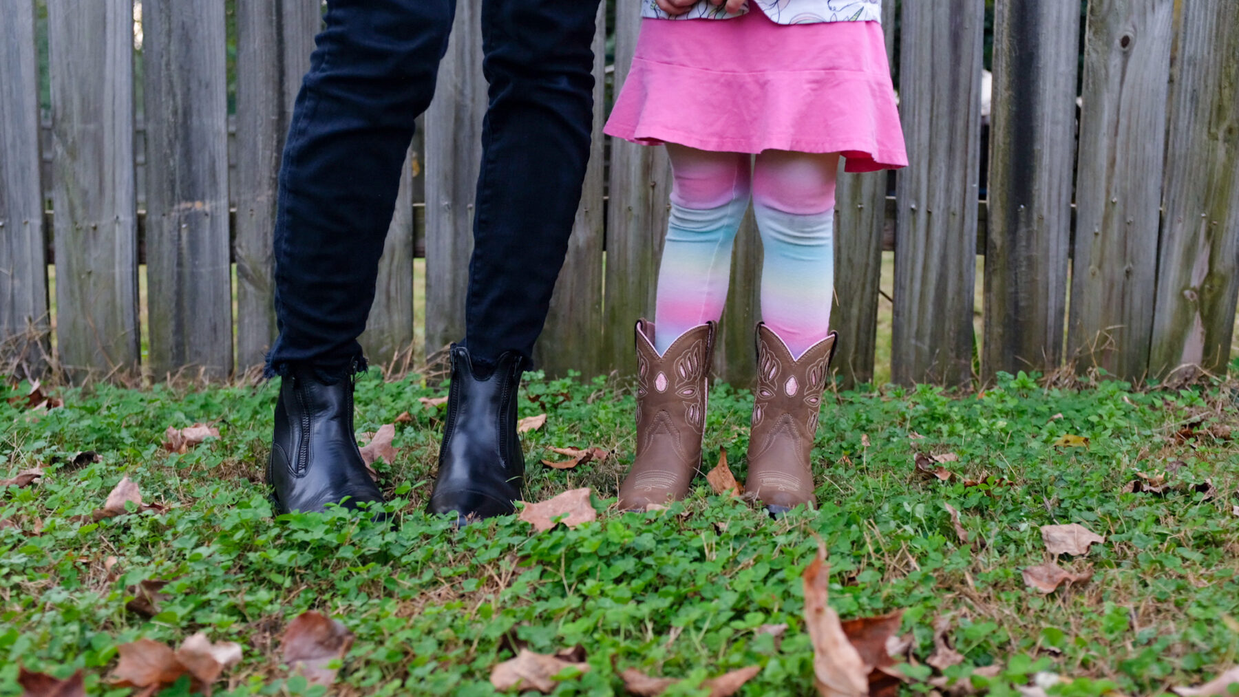 Pink Kids Cowboy Boots