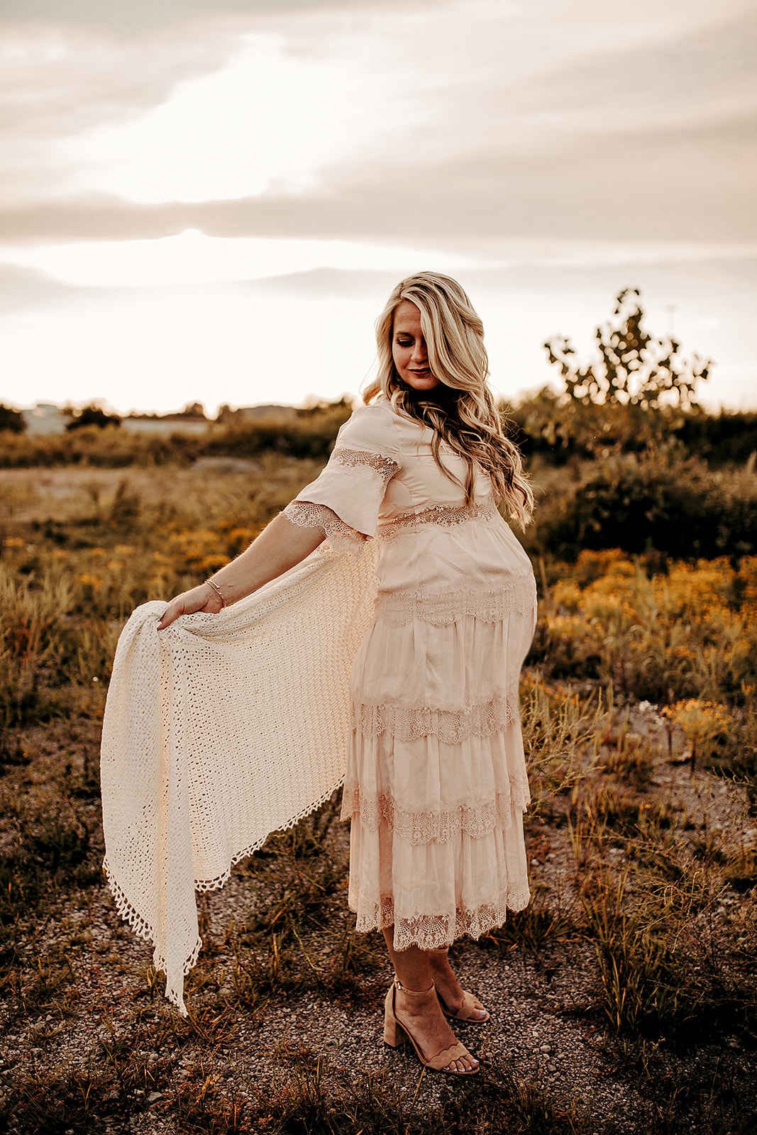 Dreamy maternity session from Jamie Hunt Photography featured on Nashville Baby Guide