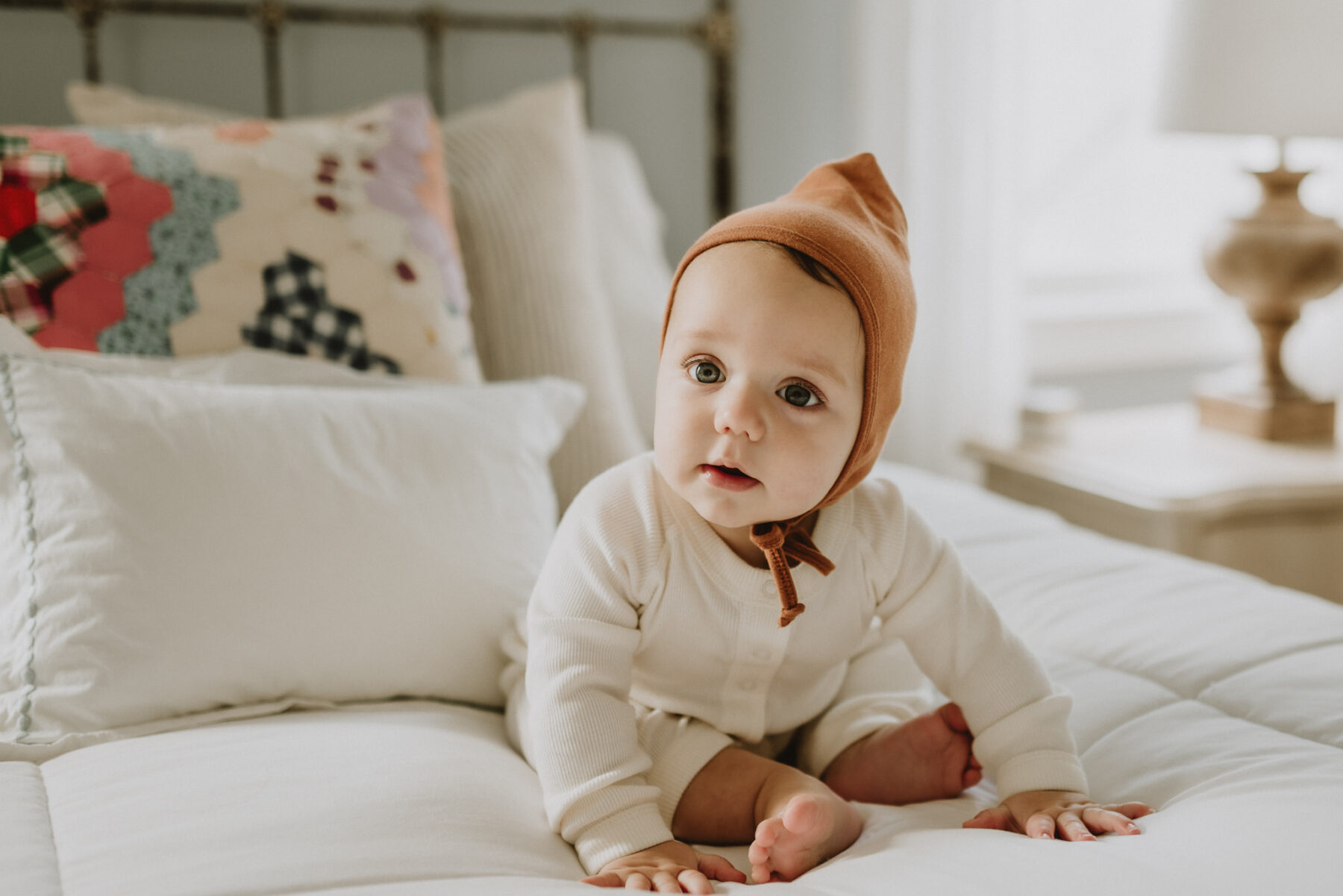 Six month milestone session by Five Pence Photography featured on Nashville Baby Guide