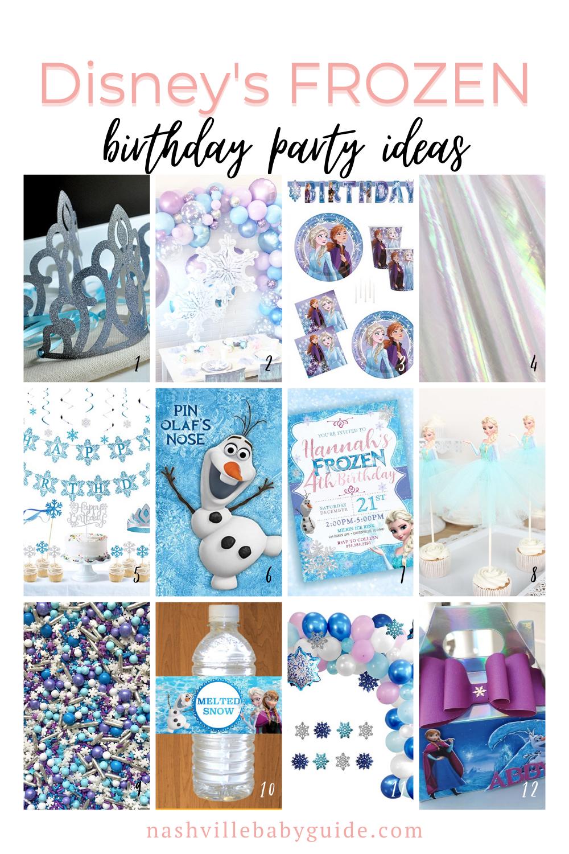 Frozen Birthday Party Ideas featured on Nashville Bride Guide