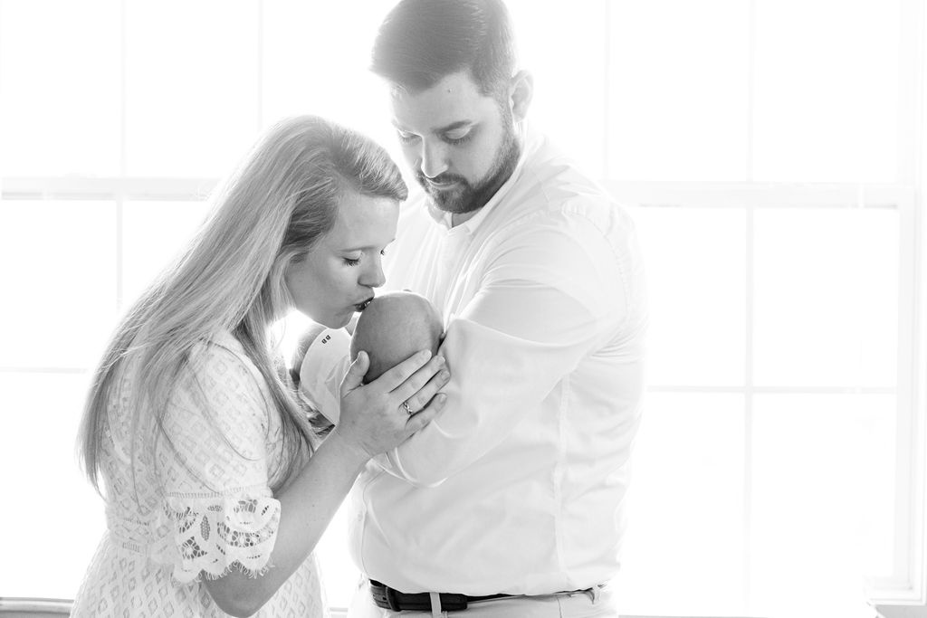 In-home Newborn Portrait Session by Kristie Lloyd Photography | Nashville Baby Guide