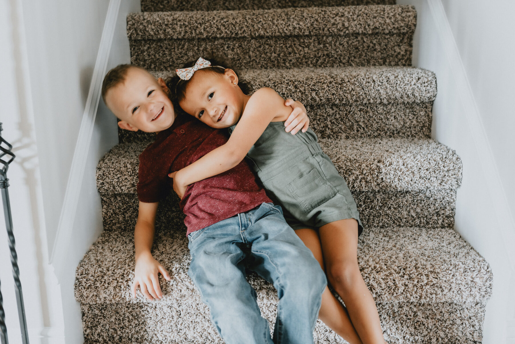 New Home Family Session by Five Pence Photography