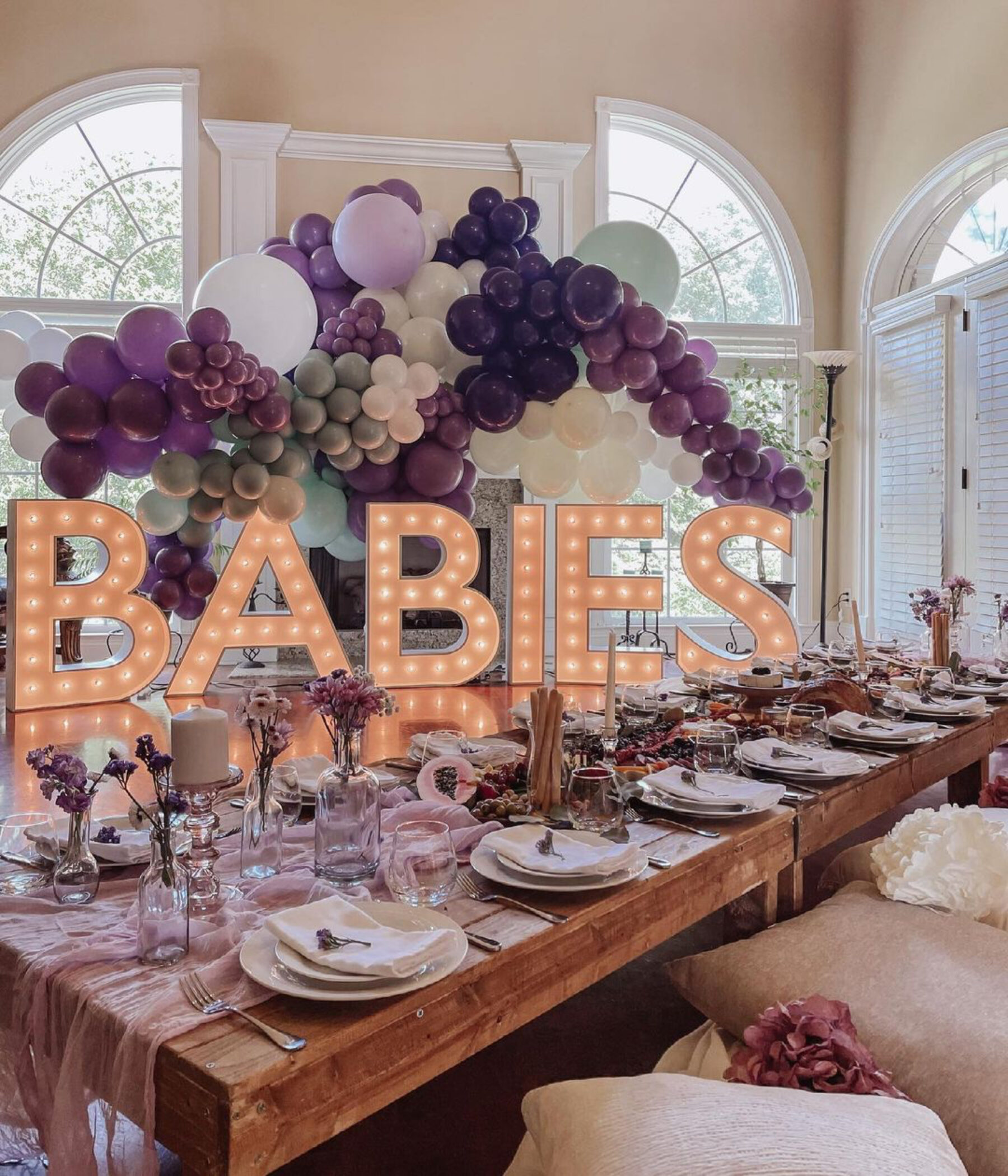 Light Up Your Next Celebration: Meet Letter Bright | Nashville Baby Guide