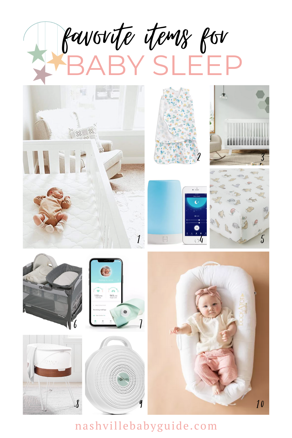Our Favorite Items for Baby's Sleep | Nashville Baby Guide